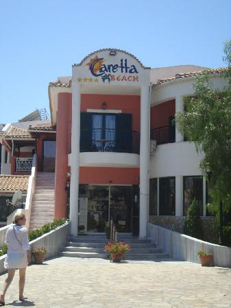 Caretta Beach Hotel: Hotel Entrance