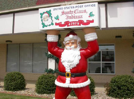 Santa Claus, IN: The only post office in the world with Santa's name