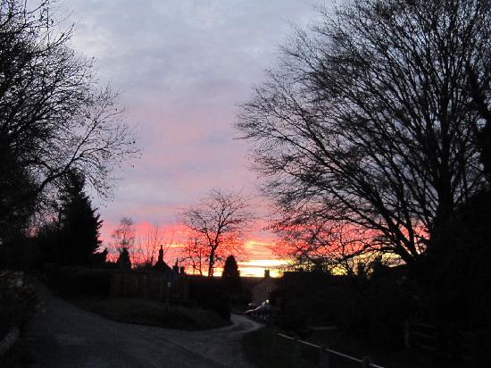 The Lamb: Christmas Eve sunset