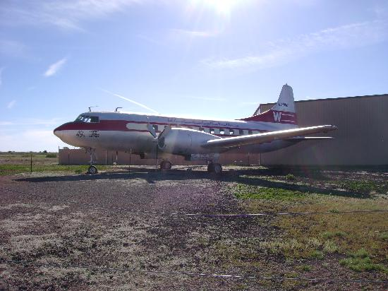 Planes of Fame Air Museum: outside storage