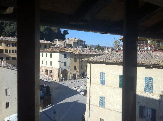 La Locanda Di Cetona: Vista dalla stanza 203