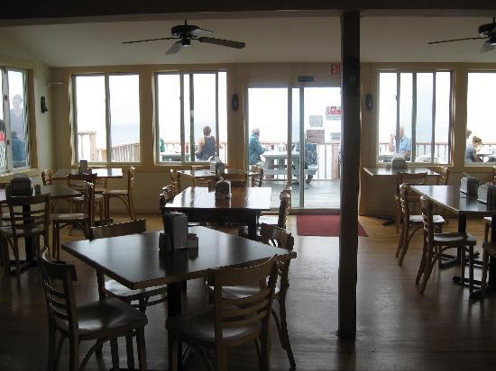 Inside the Aquinnah Shop Restaurant