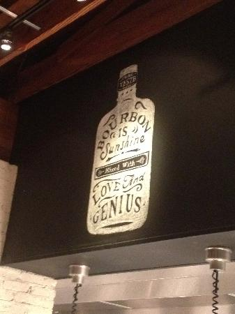 Yardbird - Southern Table & Bar : Chalkboard drawing