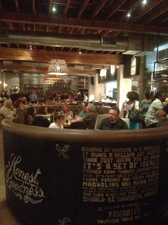 Yardbird - Southern Table & Bar : The restaurant