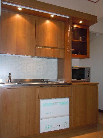 Litoraneo Suite Hotel: Angolo cottura