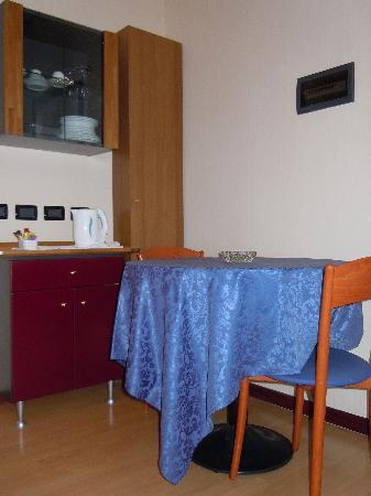 Litoraneo Suite Hotel: Tavolino pranzo