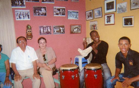 El Carmen District: Quijada del Burro (jaw bone of an ass) is a common part of the Afro-Peruvian rhythm section