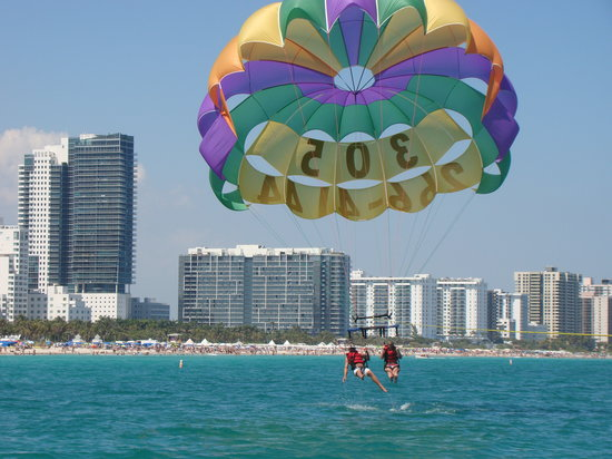 ‪South Beach Parasail‬