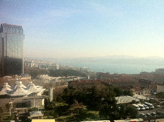 Gezi Hotel Bosphorus: the view!