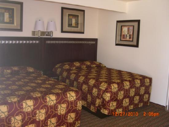 Whispering Palms Inn : Double Bed