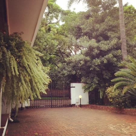 Bay Tree Guest House: secured area