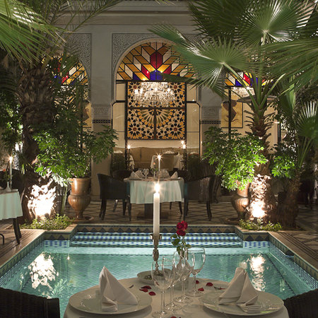 Restaurant Riad Monceau: Romantic dinner in a 1001-night decor in Marrakech