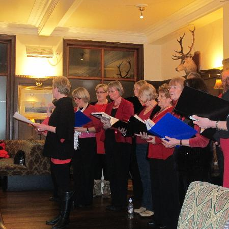 Best Western The Crianlarich Hotel: Mulled wine and afternoon entertainment