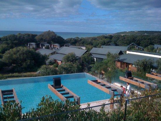 Cape Naturaliste, Australia: Bunker Bay from resort verandah