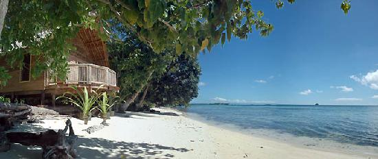 Gizo, Solomon Islands: Beach Bungalow