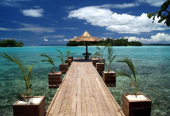 Sanbis Resort : The Jetty at The Lodge