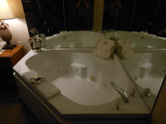 Avenue Inn & Spa: Whirlpool tub