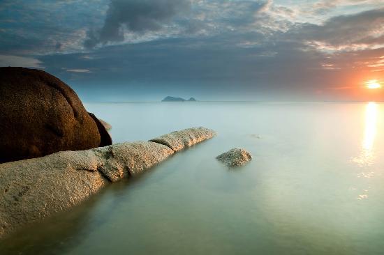 Ko Phangan, Tayland: Haad Yao beach Ko-Phangan