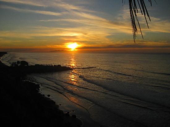 Hotel Miraflores: Sonnenaufgang