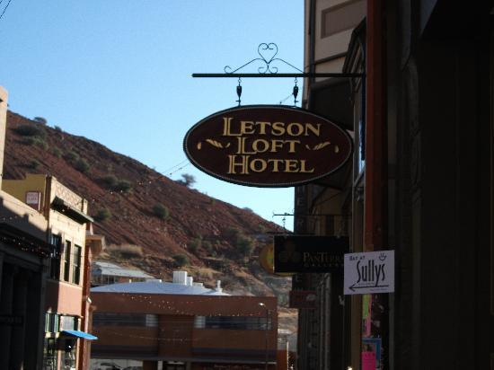 Letson Loft Hotel: front door