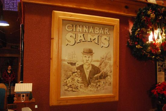 Cinnabar Sams: The Ol' boy himself.....
