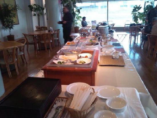 Togitsu Yasuda Ocean Hotel: 朝食レストラン