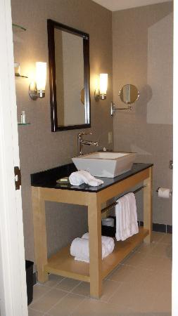 Cambria hotel & suites: bathroom sink