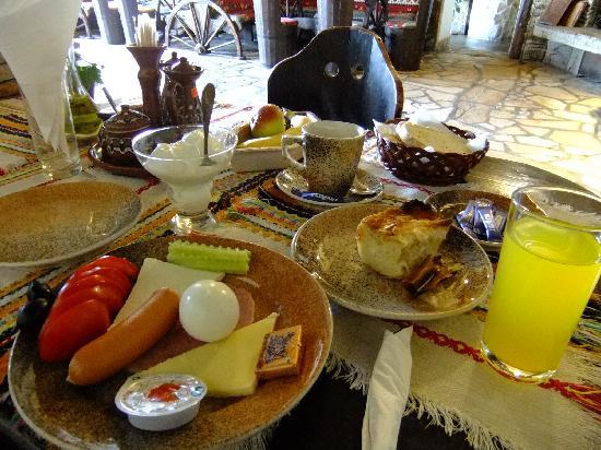 Hotel Gurko: 朝食