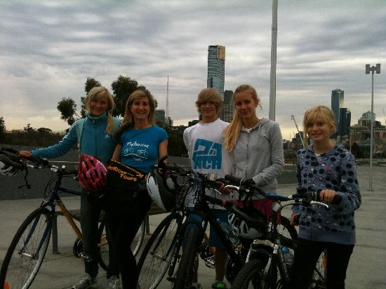 Melbourne By Bike: Monika & family visiting from Germany