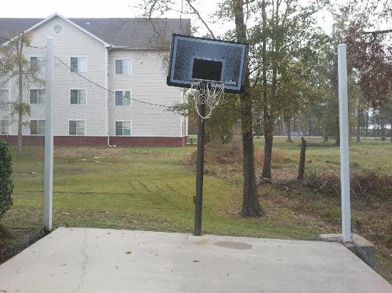 """Homewood Suites by Hilton Houston Kingwood : A """"New Angle"""" on Basketball"""