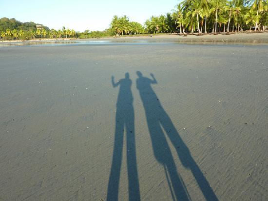 Samara Beach: early morning sunrise is great on Playa Samara
