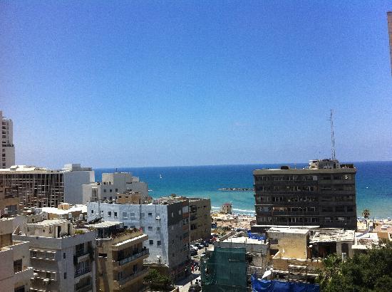 Hotel Prima City, Tel Aviv: View from room
