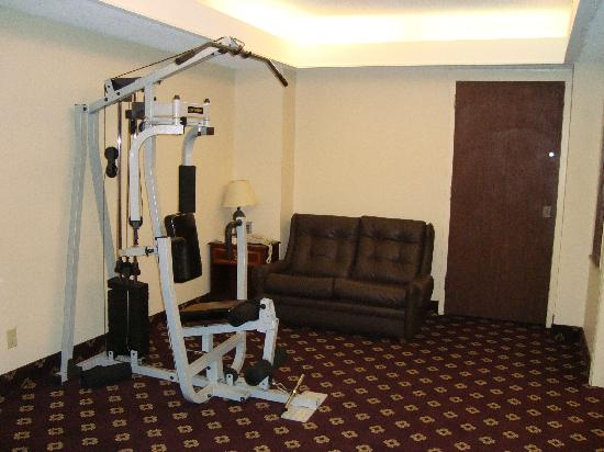 BEST WESTERN Downtown Sudbury Centreville: Part of the Fitness Center