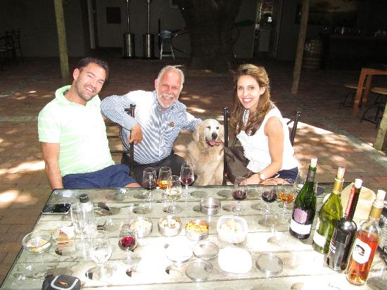Beautiful Cape Town Tours: How much fun it is to learn about food and wine AND cool dogs!