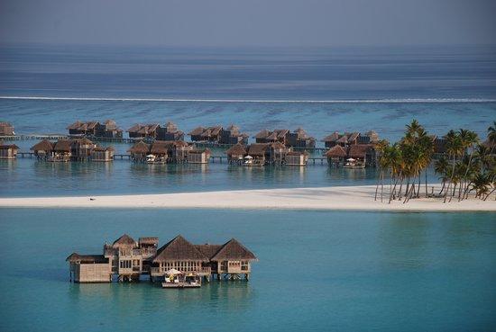 Gili Lankanfushi Maldives: Aerial View of Gili Lankanfushi