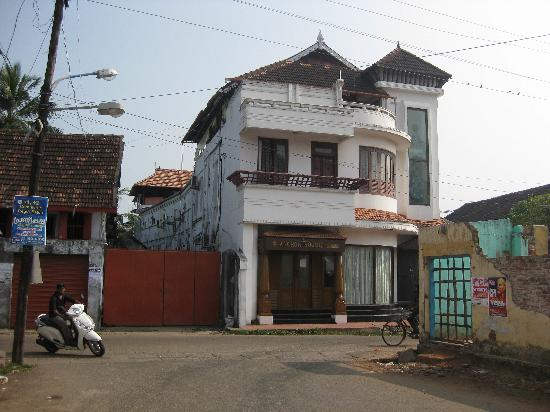 The Capital Fort Kochi: Front view of Capital Anchor House