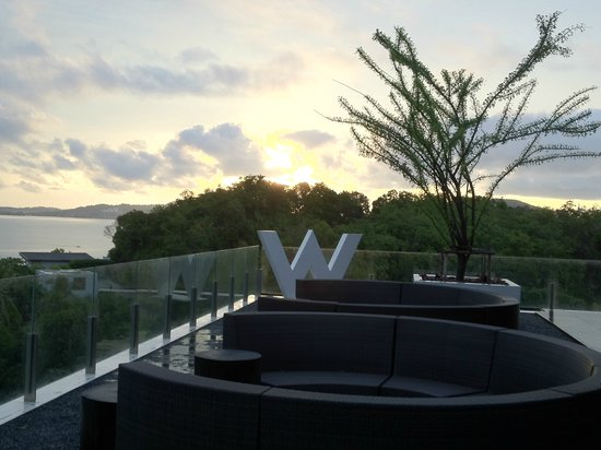 W Koh Samui: Sunrise view