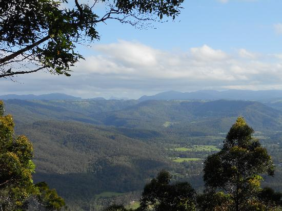 Woodleigh Homestead B & B: Every direction has a magnificent view.