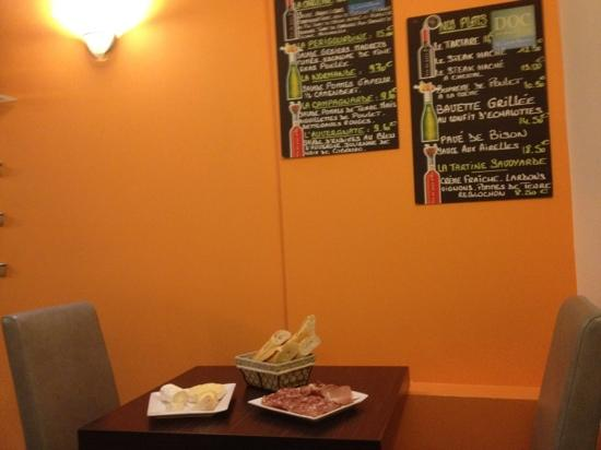 Hotel Le Magellan: breakfast room