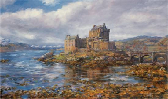 Aberdeenshire, UK: Eilean Donan Castle by Howard Butterworth