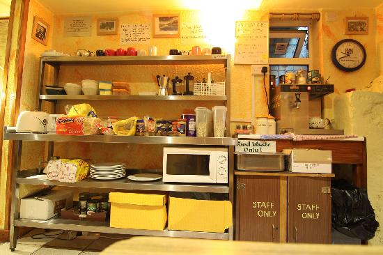 The Sugan Hostel: kitchen