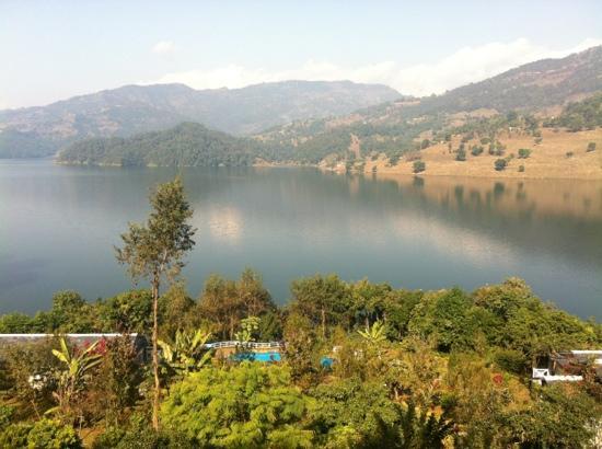 Begnas Lake Resort: вид из ресторана
