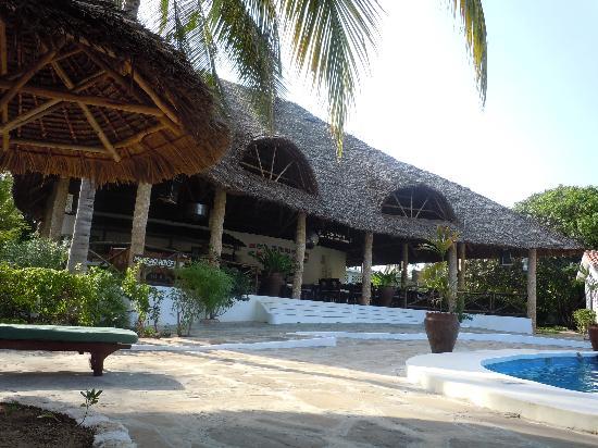 Villas Watamu Resort: the restaurant