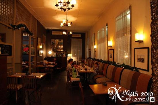 Jambu Restaurant and Lounge: Jambu Main Restaurant Area
