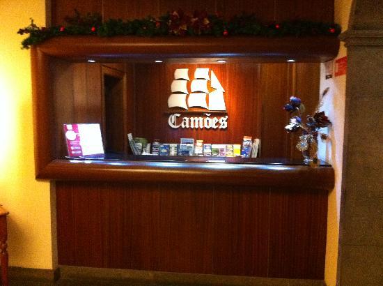 Hotel Camoes: Reception