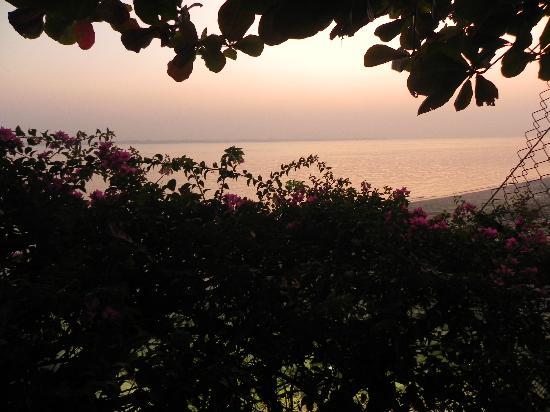 Ganga Kutir Resort & Spa : Sunset View