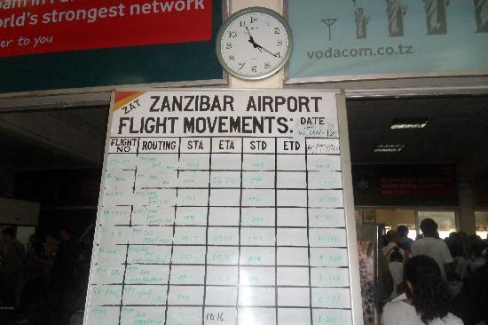 Aeroporto Zanzibar Partenze : Aeroporto bild von diamonds la gemma dell est nungwi
