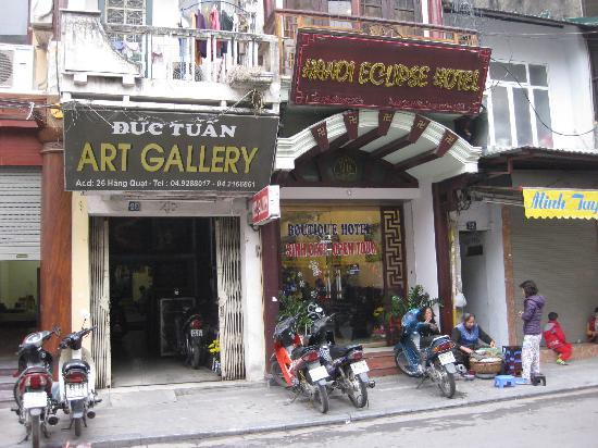 Hanoi Eclipse Hotel: 旧市街