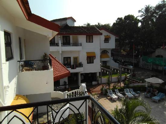 Alegria - The Goan Village: From Our Balcony