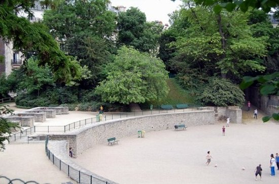 Photo of Monument / Landmark Arenes de Lutece at At Rues Monge And Navarre, Paris, France